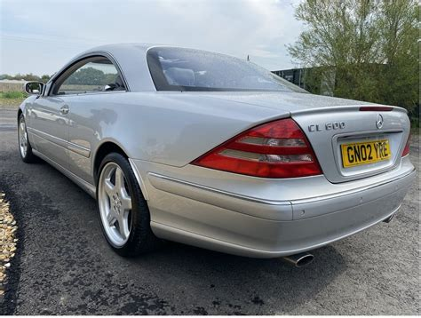 2010 mercedes cl 600 v12 dual exhaust w/ straight pipes! 2002 Mercedes cl 600 v12 incredible condition For Sale   Car And Classic