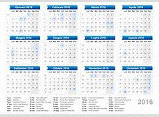 Calendario Mensile 2016 Gratis Calendar Template 2018