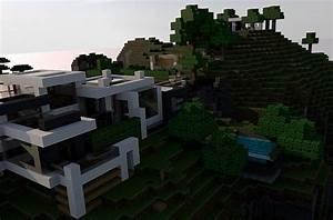 Modern Mountain House Minecraft Project   Minecraft ...