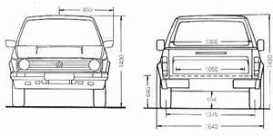Dimension Volkswagen Up : vw pickup factory specifications ~ Medecine-chirurgie-esthetiques.com Avis de Voitures