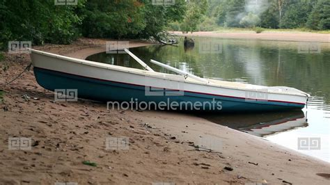 Boat Us Promo Source Code by Rowing Boat On The To Stock Footage