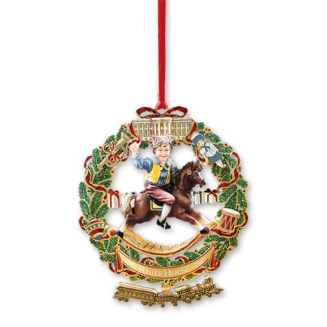 2003 white house christmas ornament a child s rocking