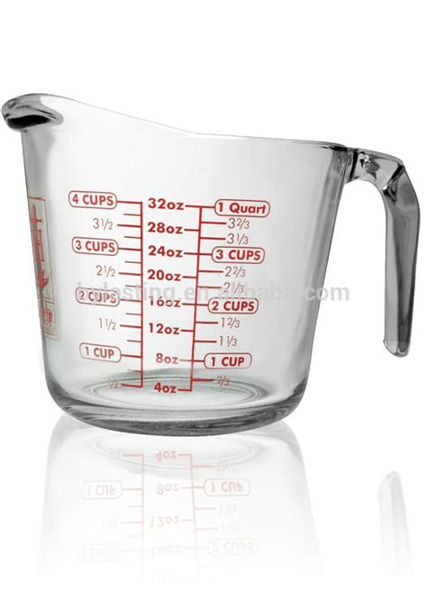 1 4 cup to ml 1000ml borosilicate glass measuring cup 4 cups measuring food stardard glass measuring cup buy