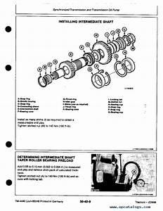 John Deere 2250 2450 2650 2650n 2850 Tractor Service