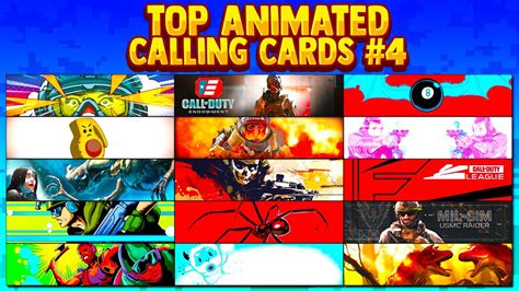 Cloud cover calling card, 1,500 xp. BEST ANIMATED CALLING CARDS in Modern Warfare Part 4 *Rare* - YouTube