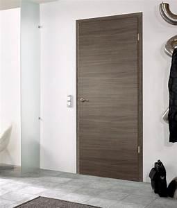 portes d39interieur portes en bois modele horizon With porte de garage et portes contemporaines d intérieur