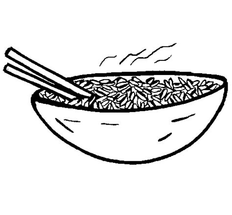rice coloring page