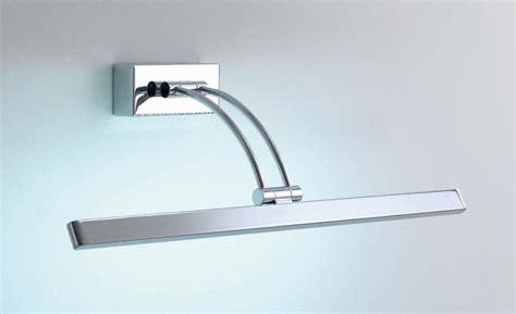 applique bagno specchio dali lada specchio quadro a led in cromo illuminando