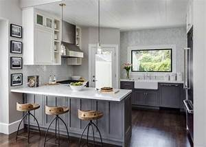 californian interior designer designs dreamy tiny house in With kitchen colors with white cabinets with napa valley wall art