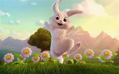 Gambar Bunga Lucu Dp Backgrounds Desktop Rabbit