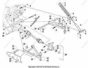 Arctic Cat Side By Side 2014 Oem Parts Diagram For Front