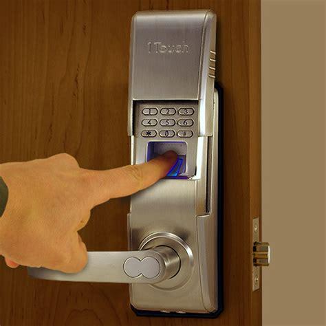 biometric door lock reversible fingerprint door lock the 1touch evo3