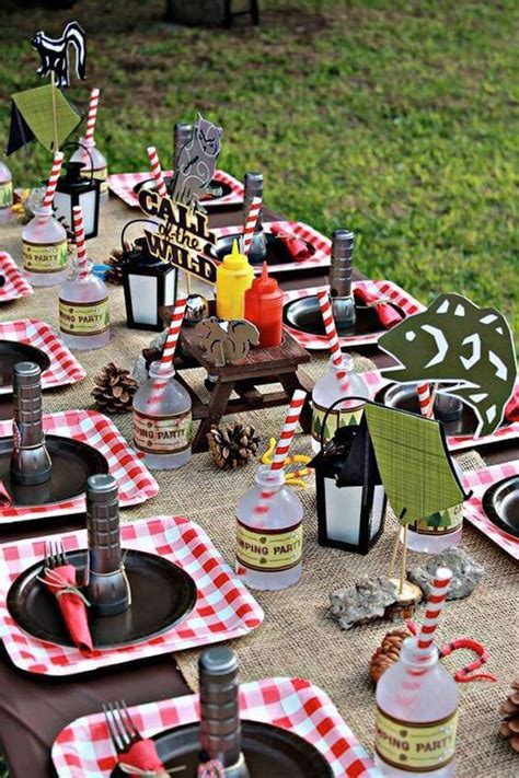 23 Awesome Camping Party Ideas  Spaceships And Laser Beams
