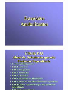 Esteroides Anabolizantes Apresenta U00e7ao
