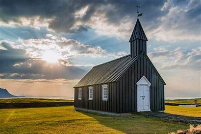 Iceland Churches Church Prettiest Budir Turf Famous