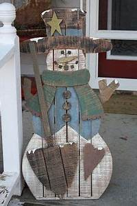 1000 ideas about Wooden Snowman Crafts on Pinterest