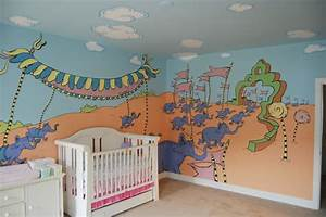 oh the places you39ll go dr seuss mural throughout a With kitchen cabinets lowes with oh the places you ll go wall art