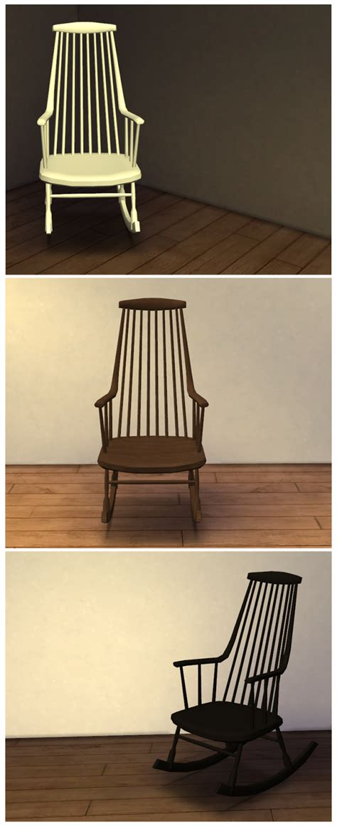 Rocking Chair Conversion Kit Uk by My Sims 4 Ts3 Pocci S Rocking Chair Conversion By