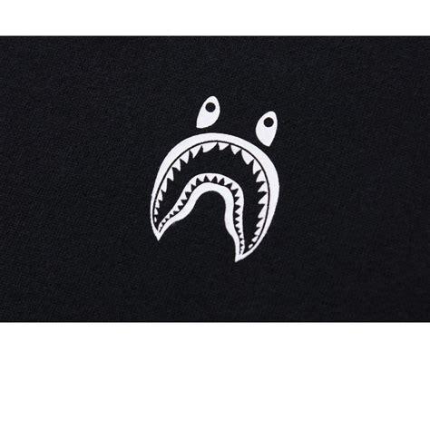 Black BAPE Shark Logo LogoDix