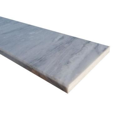 marble door saddle ms international white single bevelled threshold 6 in x 54 in polished marble floor and wall