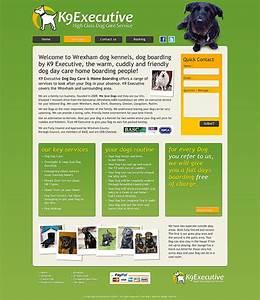 wrexham dog kennels website design for k9 executive With dog boarding website