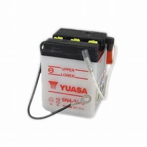 Yuasa Motorcycle Battery 6n4