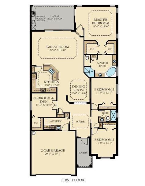 isabella  home plan  bonita national executive homes