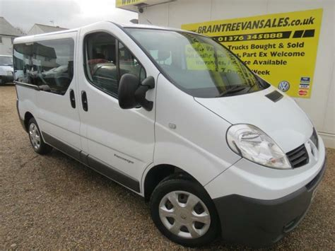 Trafic 9 Seater by 2010 Renault Trafic 9 Seater Minibus Sl27dci 115 In