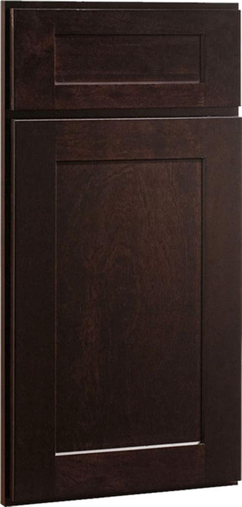 kitchen cabinets display dayton birch stained wood shaker kitchen 2972