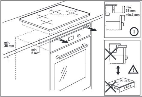 branchement electrique hotte de cuisine installer une plaque à induction au dessus du four notre maison rt2012 par trecobat