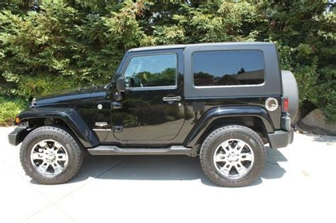 jeep sahara black 2 door buy used 2007 jeep wrangler sahara sport utility 2 door 3