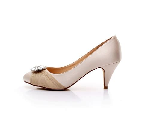 comfortable evening shoes satin bridal shoes rhinestone wedding shoes low heel dress