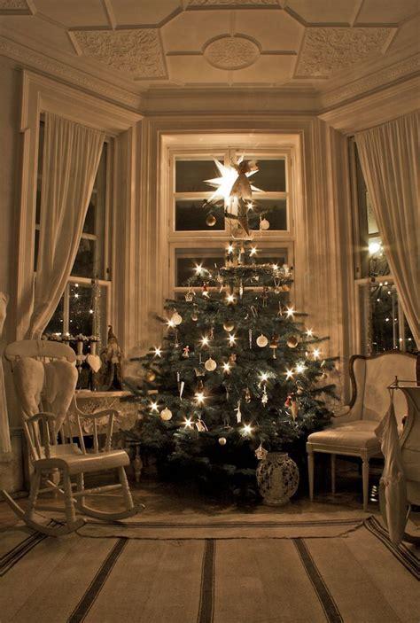 Interni Arredate Gli Interni Delle Scandinave Arredate Per Natale