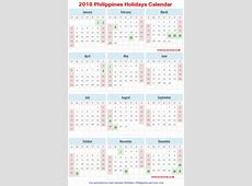 August 2018 Calendar Philippines – Printable Calendar 2018