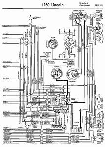 Wiring Diagrams Of 1960 Ford Lincoln And Continental Part
