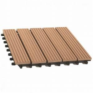 Dalle De Terrasse En Bois : dalle de terrasse bois composite modular balcons et ~ Dailycaller-alerts.com Idées de Décoration