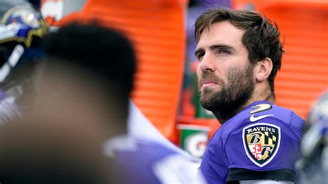 How worried should Joe Flacco be about losing the starting ...