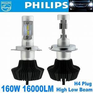 H4 Led Headlight Bulbs Kit For Toyota Corolla Tacoma Rav4