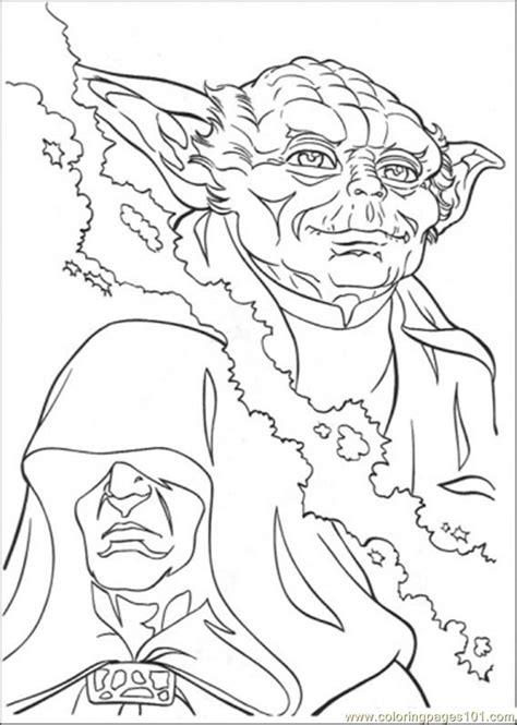 coloring pages master yoda  cartoons star wars