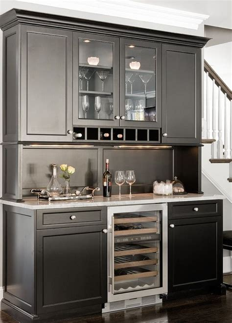 Bar Built In by 25 Best Ideas About Bar Hutch On Kitchen
