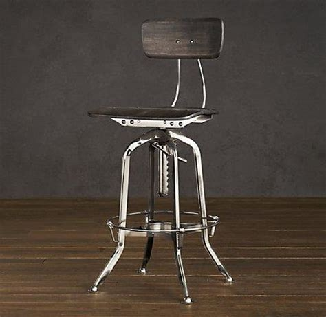 Vintage Toledo Bar Chair by Vintage Toledo Chair Polished Chrome Bar Counter