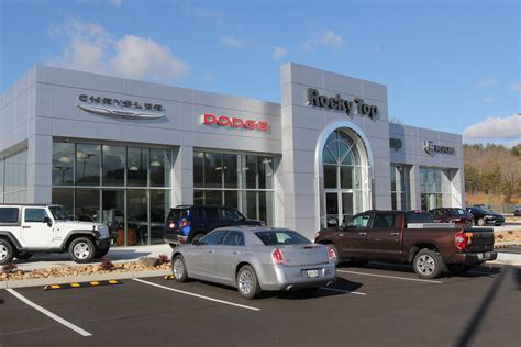 Dodge Chrysler Dealers by About Rocky Top Chrysler Jeep Dodge Dealership Sevierville
