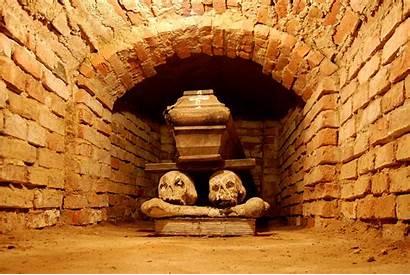 Wikipedia Crypt Wola Church Brick Under Coffin