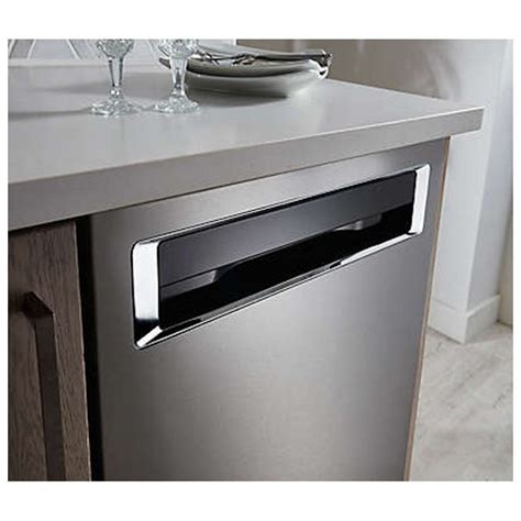 KDPE334GBS KitchenAid Integrated Control Dishwasher with