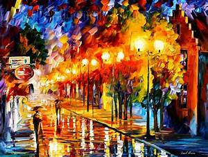 Palette knife painting 2011