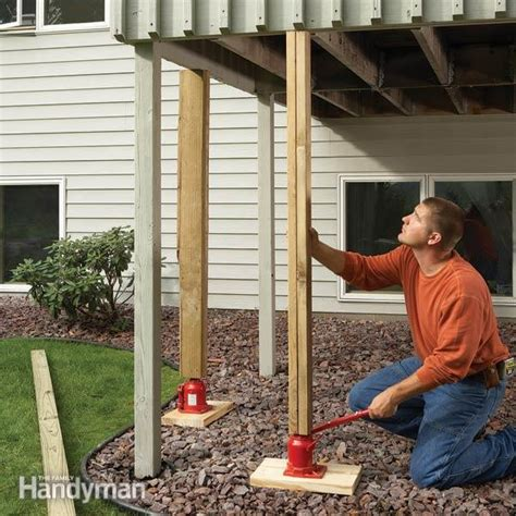easy deck inspection  deck repair tips  family