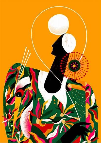 Santiago Willian Illustrations Illustration Illustrator Theinspirationgrid Behance