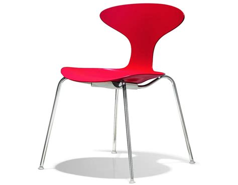 cherner dining chair orbit plastic stacking chair hivemodern com