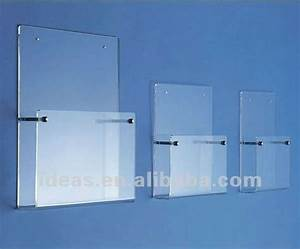 fashion acrylic wall mounted file holder 320 could put With clear plastic wall mounted document holder