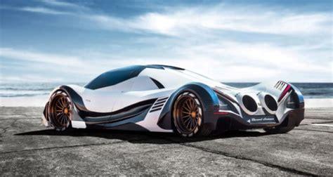 the jet inspired 5 000 hp turbo devel sixteen hypercar